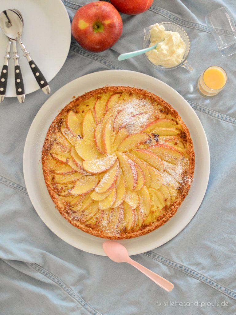 Eierlikör Apfelkuchen