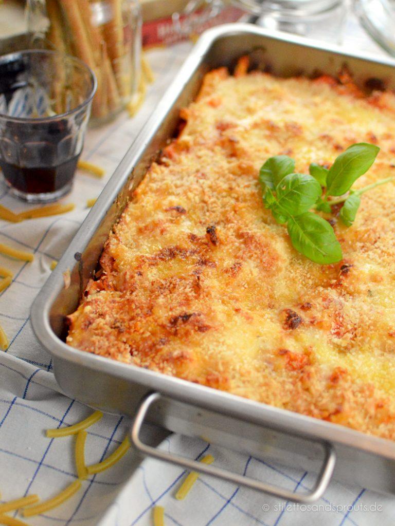 Maccaroni Auflauf mit Käse