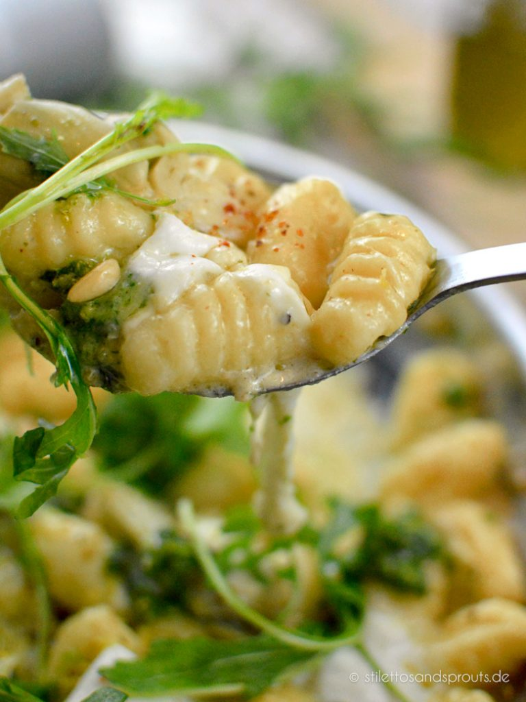 Italienische Kartoffelklößchen aus der Pfanne