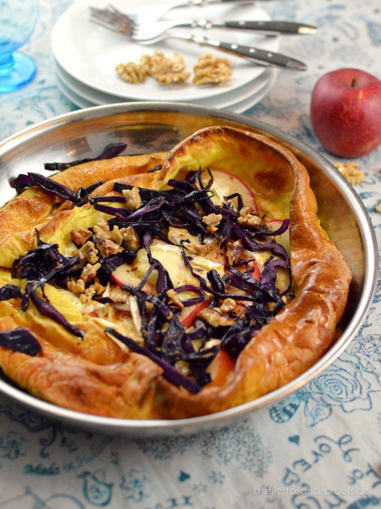 Herzhafter Pfannkuchen aus dem Ofen