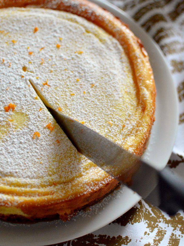 Ricotta Cheesecake ist besonders cremig