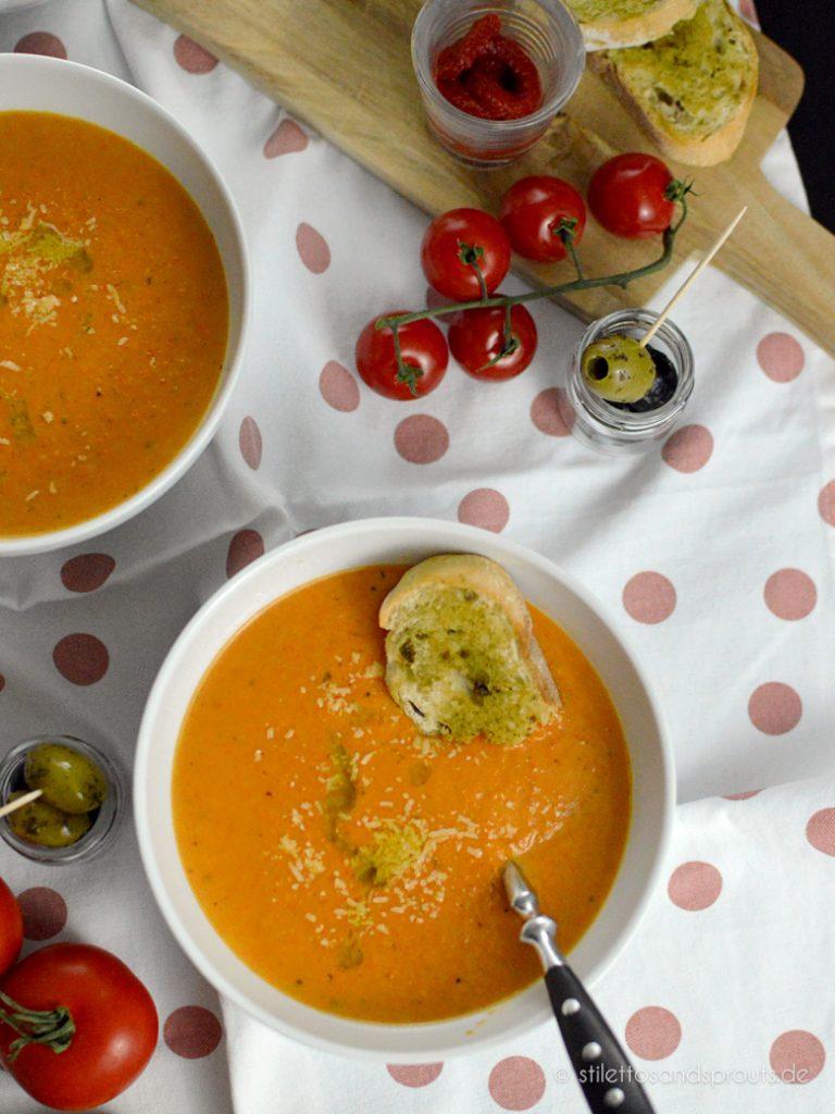 Tomaten Parmesan Suppe