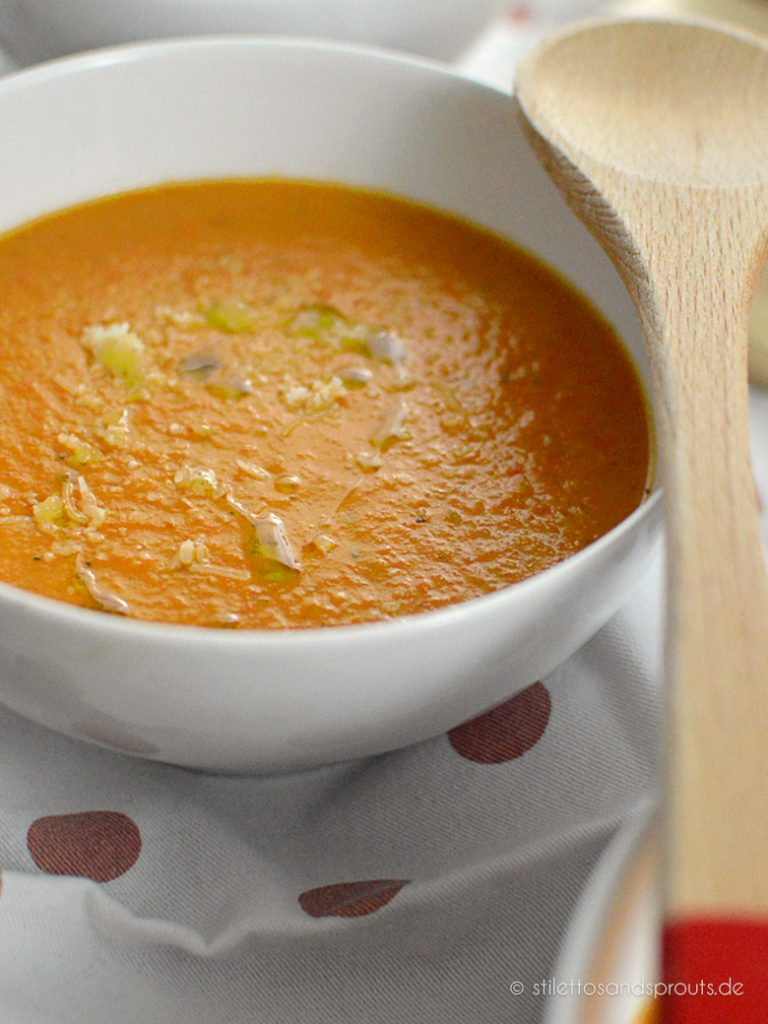 Super cremige Tomatensuppe