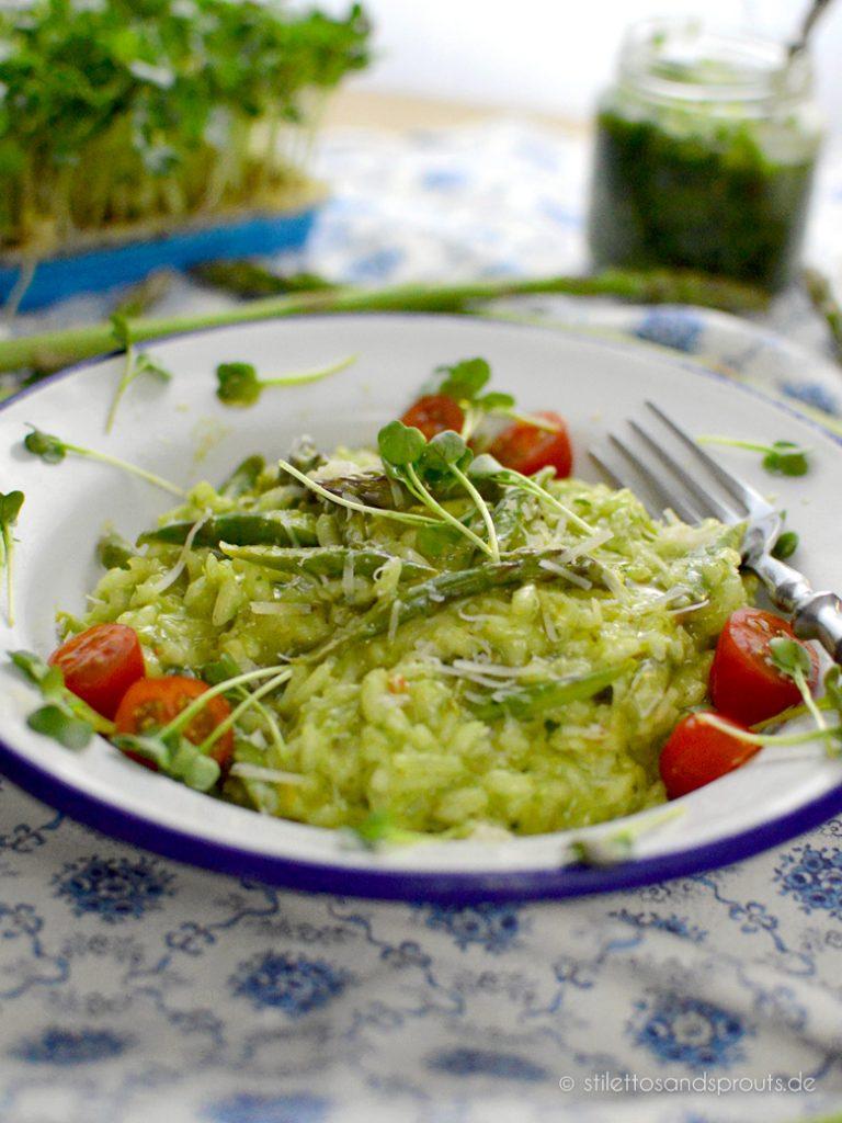 Grünes Risotto – das perfekte Frühlings-Rezept