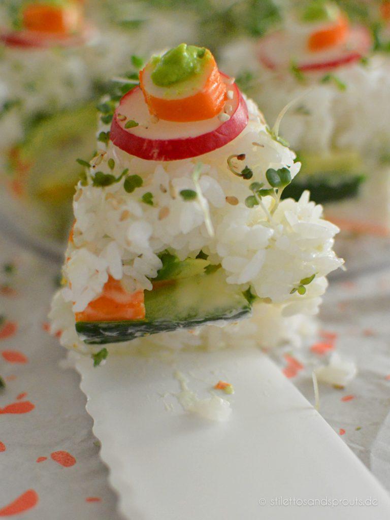 Sushi als Kuchen