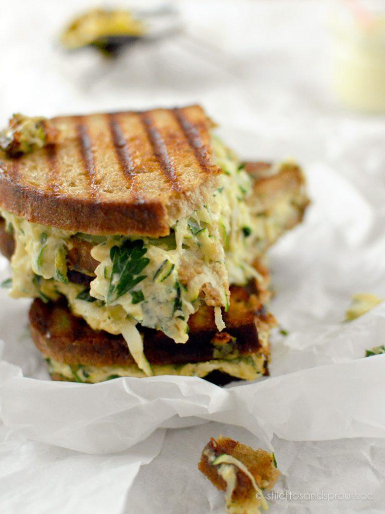 Veggie Grilled Cheese Sandwich