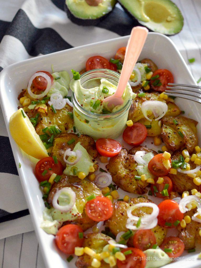 Smashed Potato Salat