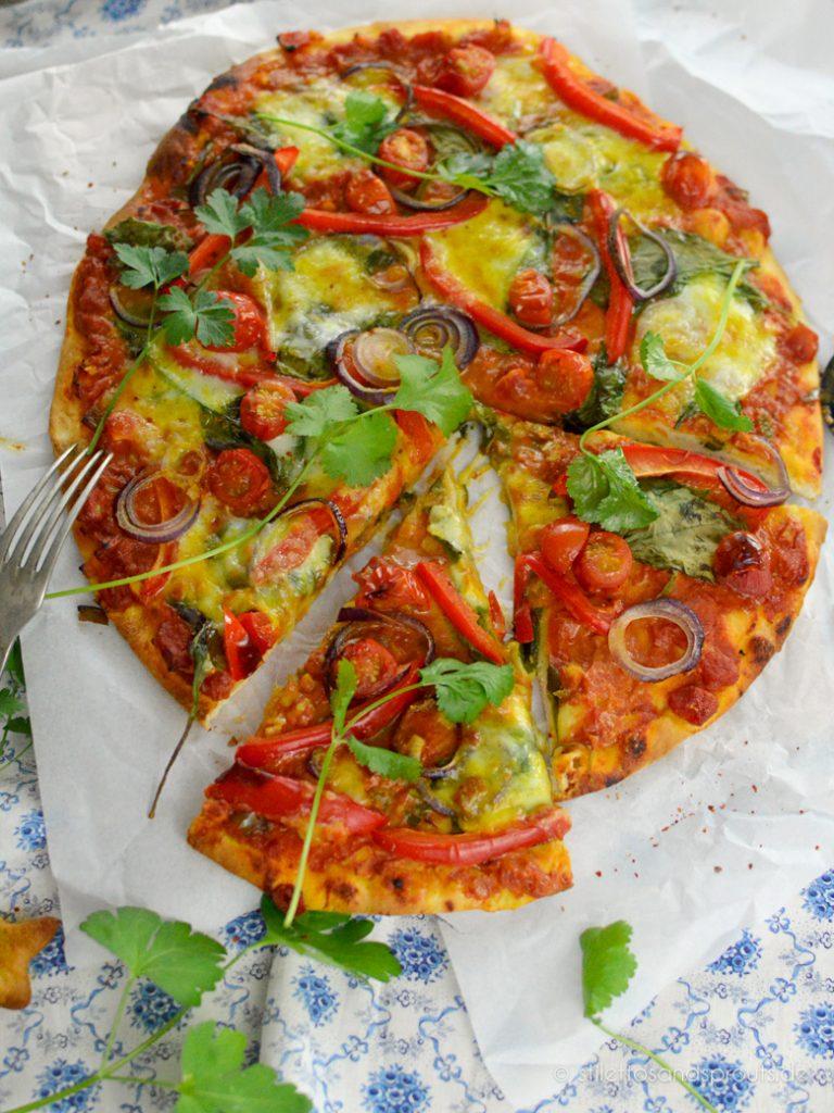 Indische Pizza