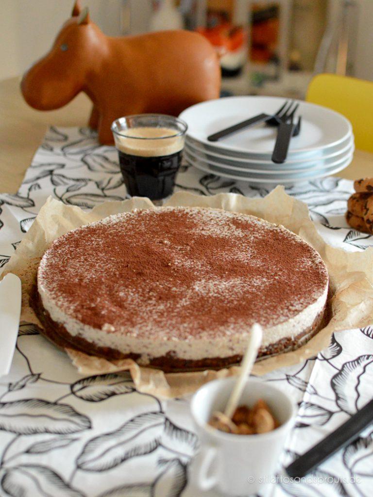 No Bake Cheesecake mit Kaffee