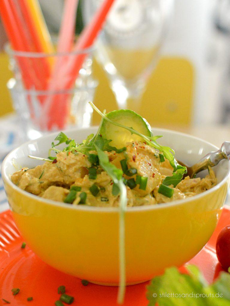 Curry Geflügelsalat