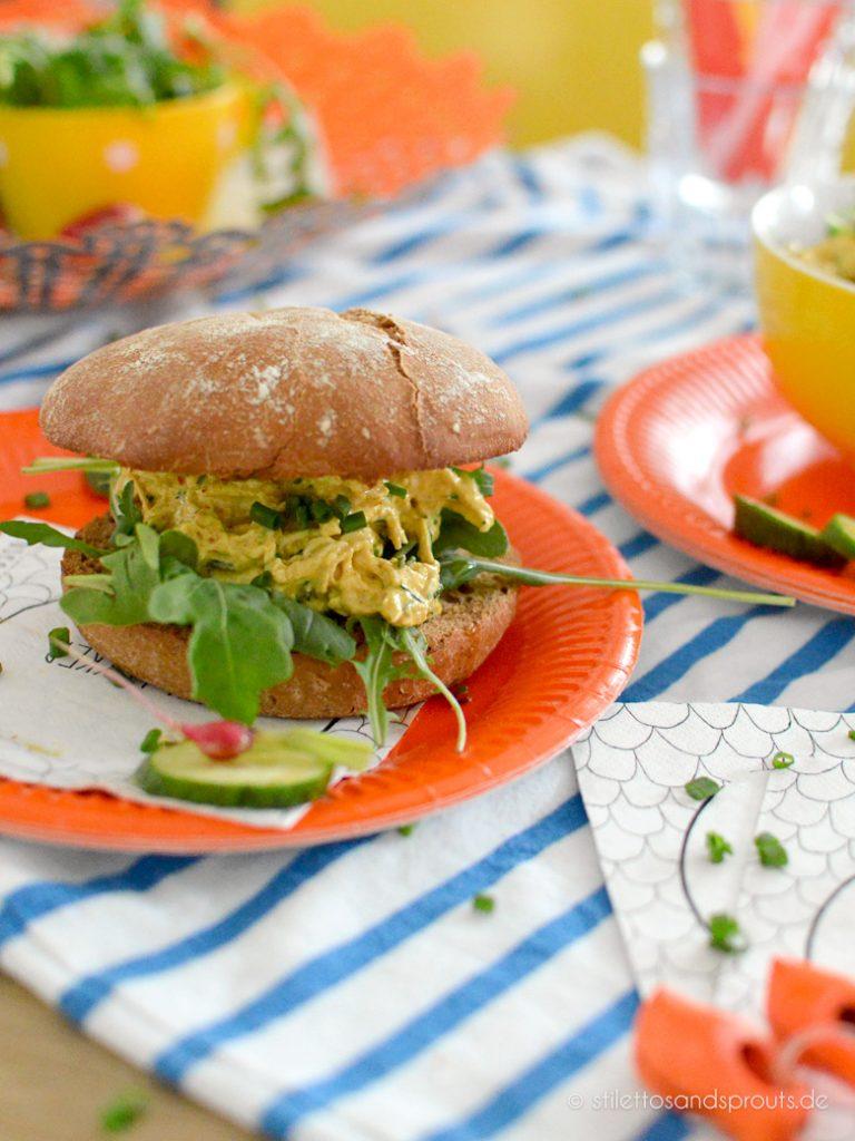 Niederländischer Kip Kerrie Salade