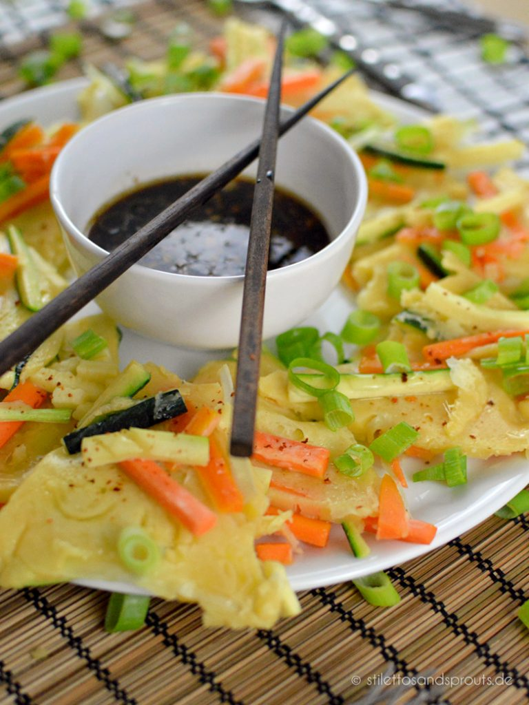 Gemüsepfannkuchen aus Korea