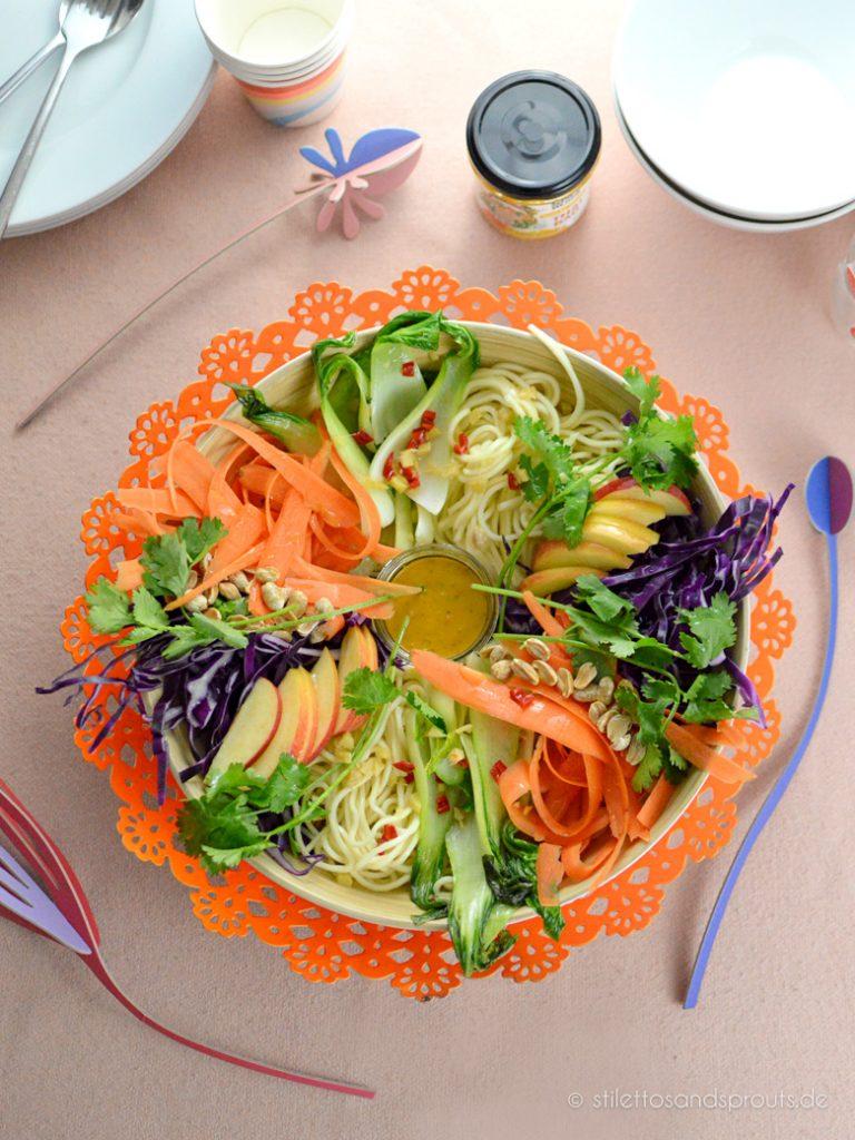 Vegane Thai Bowl