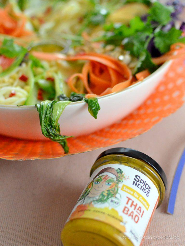 Gemüse-Sauce mit Kokosnuss als Dip